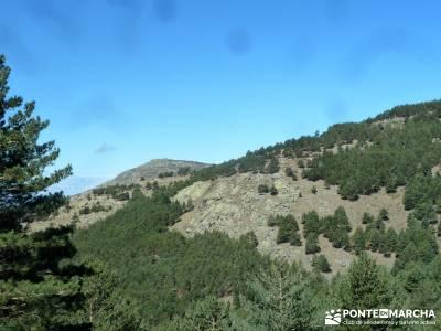 Cascadas de La Granja - Chorro Grande y Chorro Chico; senderismo primavera;grupo pequeño senderismo